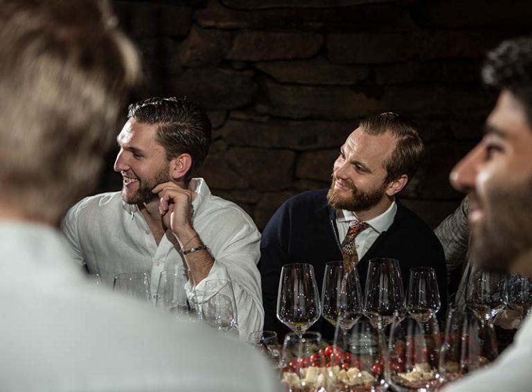 Vinprovning på Uddetorp Säteri