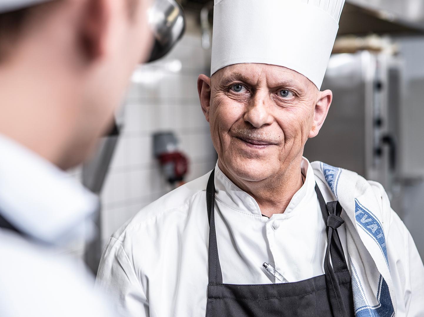 Köksmästare Mats Larsson, Uddetorp Säteri