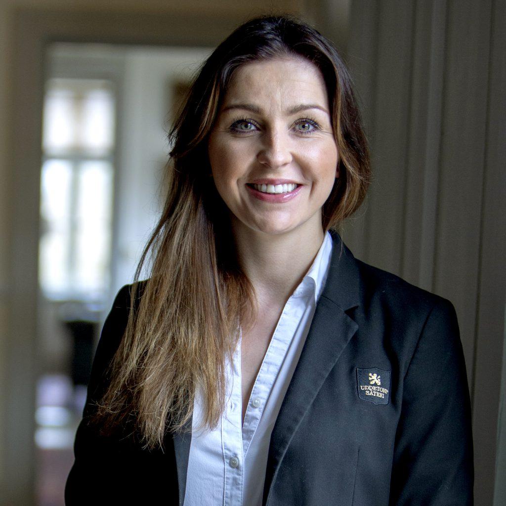 Nathalie Olofsson, restaurangchef på Uddetorp Säteri
